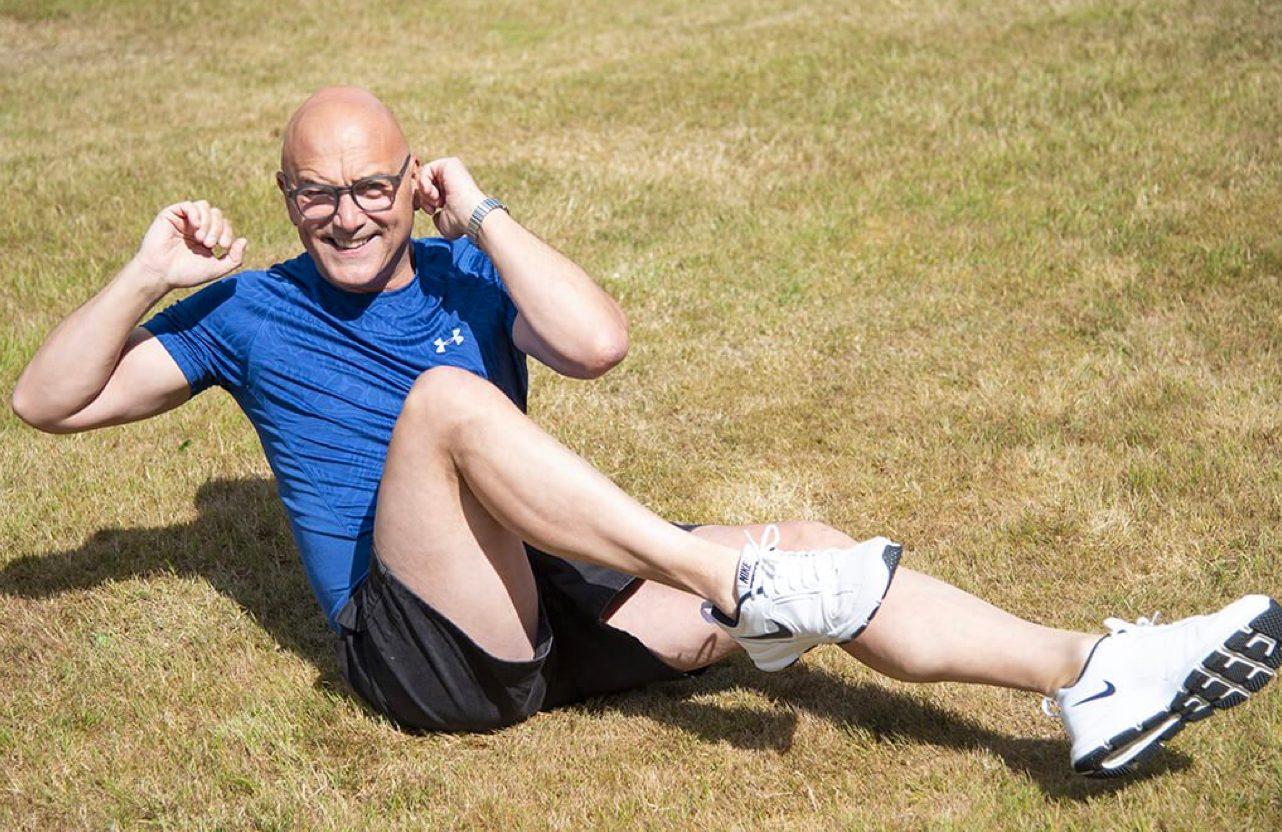 Gregg Exercising