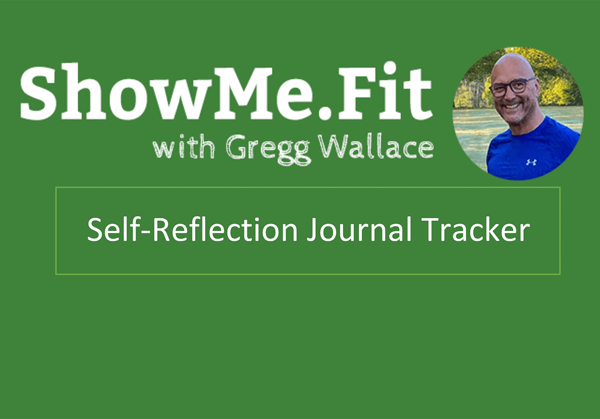 Self-Reflection Journal Tracker SMF